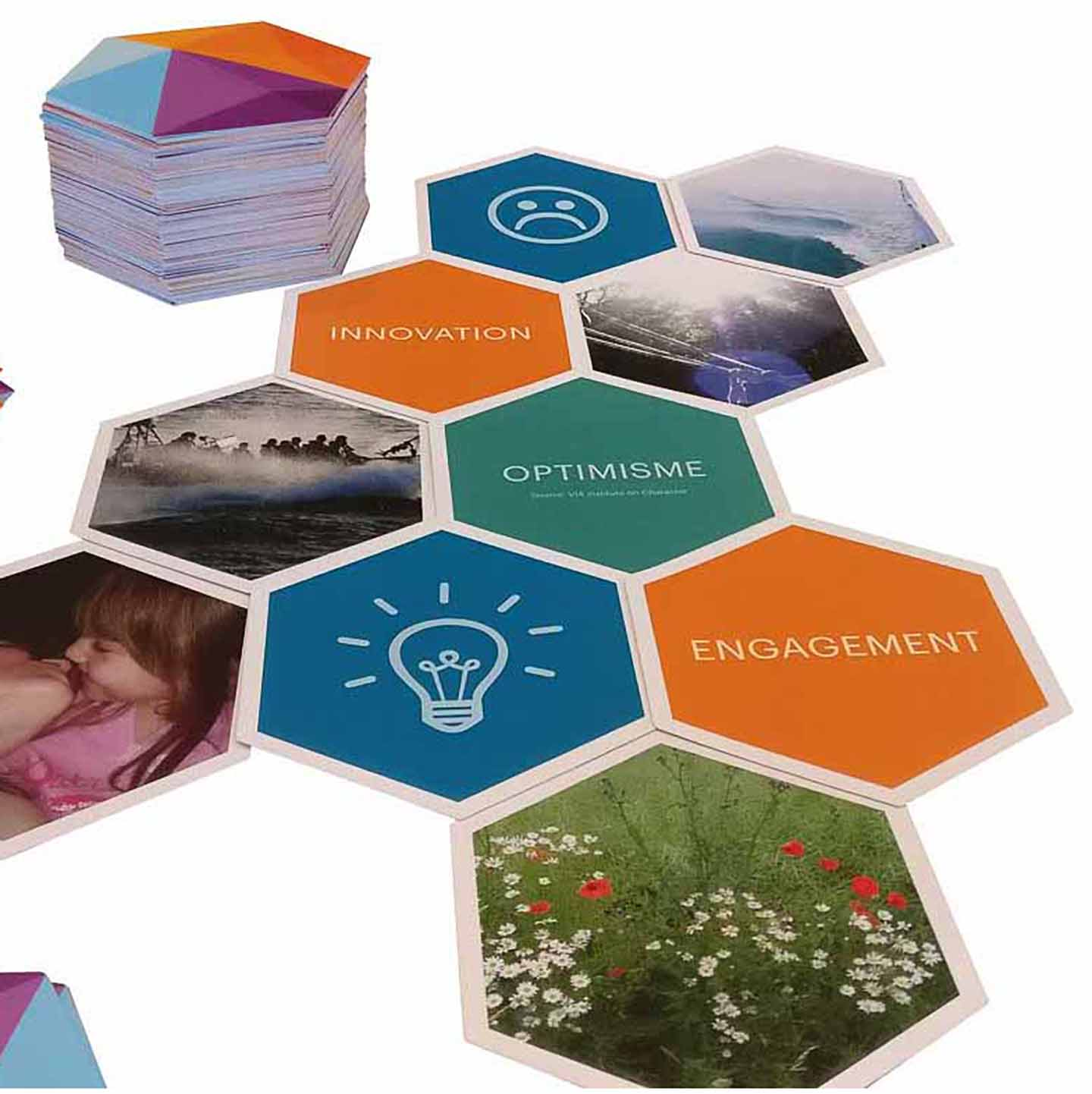 cartes innovation optimisme et engagement