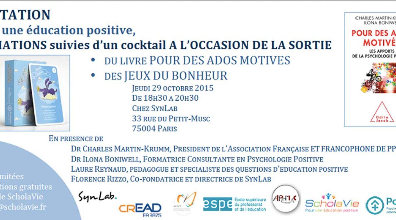 Education & Psychologie Positive invitation