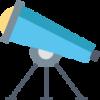 Telescope icone