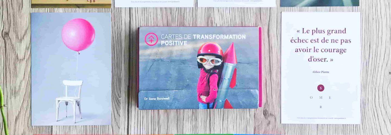 cartes de transformation positive