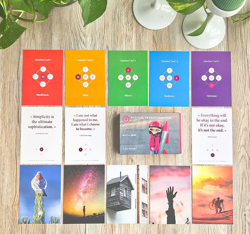 UK positive transformation cards