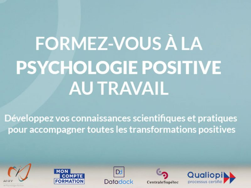 Formation psychologie positive