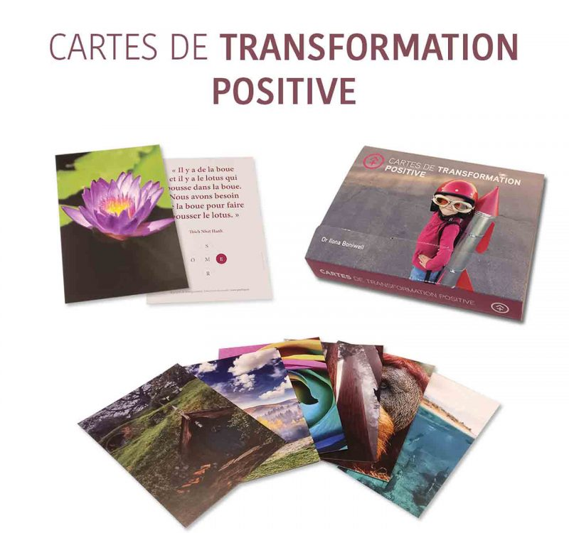 cartes de transformation positive
